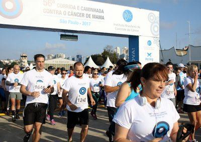 56ª Edição - Corrida e Caminhada Contra o Câncer de Mama - São Paulo 2017